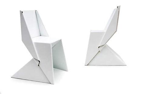 纸椅子手工制作大全